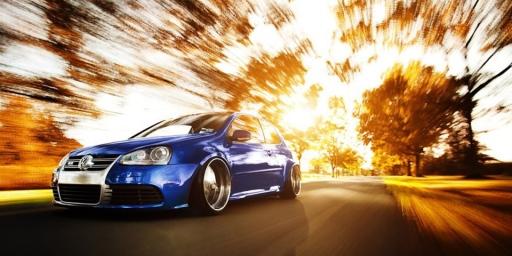 carro em velocidade